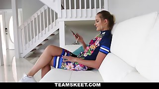 Bicycle-loving teen loves massage and fucking